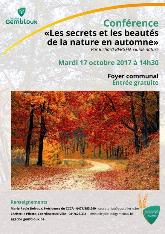 Affiche conférence 17 octob